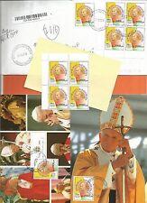 * MADAGASCAR MADAGASKAR MALAGASY PAPE JEAN PAUL II POPE BAPST JOHANNES PAULUS II