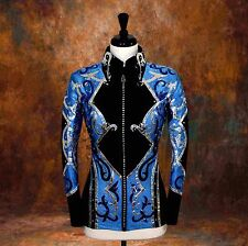 3X-LARGE  Showmanship Pleasure Horsemanship Show Jacket Shirt Rodeo Queen Rail