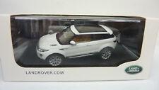 IXO Models 1:43 LAND ROVER - Range Rover Evoque 3 Door Fuji White in OVP (A137)