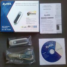 USB Wi-Fi ZyXEL G-270S - 802.11g  Wi-Fi USB 2.0 - Wireless USB Adapter 108Mbps