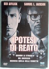 IPOTESI DI REATO - AFFLECK/S.L.JACKSON - DVD N.01624 BOX CARTONATO