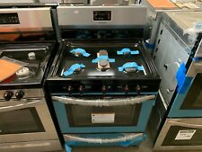 Frigidaire 30 in. 4.2 cu. ft. Gas Range with 5 Burner Cooktop in Stainless Steel