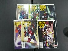 Ultimate Iron Man II (Volume 1) - Marvel - Lot of all 5 Issues - Complete Series