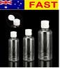 Clear Plastic Flip Cap Bottle Lotion Dispenser Travel Cosmetic Container Shampoo