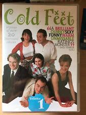 James Nesbitt Frío Feet Temporada 1 ~ Comedia Británica Drama Series REGIÓN 1