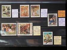 ITALIA,ITALIE '1987-91 MNH,LOT,YT 12,00 EUR,TABLEAUX CELEBRES,FAMOUS PAINTINGS