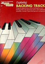 EZ-PLAY Letter-In-Note  Sheet Music Book Exploring BACKING TRACKS SONGS & SKILLS