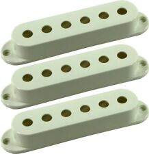 Seymour Duncan Pickup Cover 3-Pack Strat Single Coil Pickups, Parchment, No Logo