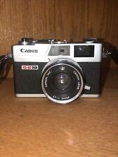Vintage Canon G-Iii Rangefinder 35mm Film Canonet Ql-17 Camera 1:1.7 40mm Lens