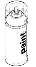 VAUXHALL SPRAY CAN - GENUINE NEW - PAINT CODE 26U - GALAXY WHITE