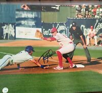Rhys Hoskins Philadelphia Phillies AUTOGRAPHED signed 11x14 photo COA