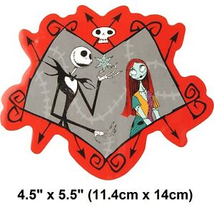 "Nightmare Before Christmas Sally Jack Waterproof Vinyl Bumper Sticker 4""x 6"" New"