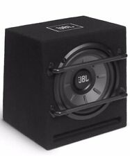"""New listing Pair(2) Jbl 8"""" Ported Enclosed Car Subwoofers W/Built-In Amp 200W"""