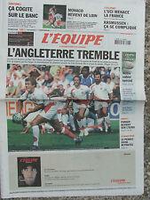 L'Equipe du 28/9/2007 - Cyclisme : L'UCI menace - Rasmussen - Mercato agité