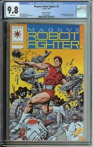 MAGNUS ROBOT FIGHTER #0 CGC 9.8 VALIANT TRADING CARD INCLUDED MAIL ORDER EDITION
