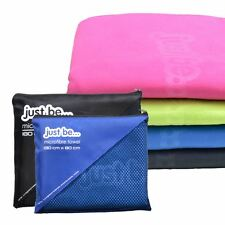 Compact Large Microfibre Towel Travel Micro Fibre Bath Camping Sports Gym Yoga