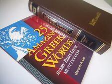 Complete Biblical Library Study Bible MATTHEW Interlinear + Amazing Greek Book