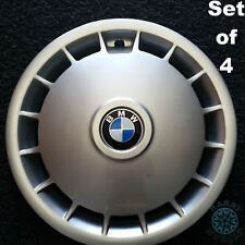 """BMW 14"""" Genuine Hubcaps Reconditioned (set of 4)"""