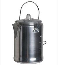 Mil-Tec Percolator Aluminium Kaffee-Kanne Perkolator Outdoor Camping Geschirr
