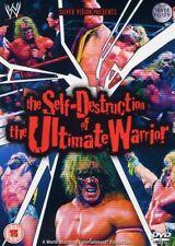 WWE The Self-Destruction of the Ultimate Warrior Orig DVD Wrestling (vg/g)