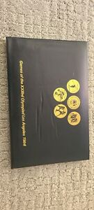 coin collection -  games of the 23rd olympiad los angeles 1984