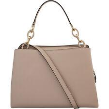 Michael Kors Portia Large Saffiano Taupe Leather Women's Handbag 30T6GPAL3L134
