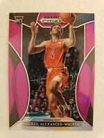 2019 Panini Prizm Basketball NICKEIL ALEXANDER-WALKER PINK PRIZM ROOKIE CARD RC