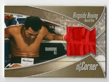 MUHAMMAD ALI 2010 SPORTKINGS RINGSIDE BOXING ROUND ONE TRUNKS GOLD #8/10