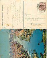 2176 - Occupazioni, Trento e Trieste - 10 cent su cartolina per Genova, 1919