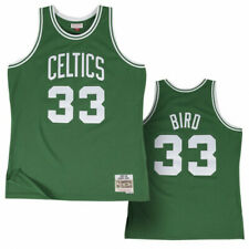 Larry Bird Boston Celtics Mitchell & Ness HWC 1985-86 Green Swingman Jersey