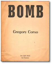 Gregory Corso / Bomb First Edition 1958