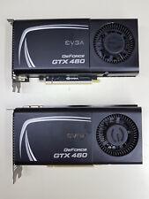 SLI Pair EVGA GeForce GTX 460 EE 1GB PCIe 01G-P3-1371-TR 2xDVI MiniHDMI TESTED