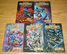 Mutant Chronicles: Golgotha #1-4 VF/NM complete series + sourcebook SIMON BISLEY