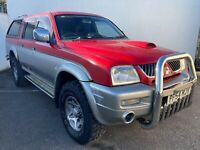2005 MITSUBISHI L200 2.5 4LIFE LWB 4WD DOUBLE CAB PICK UP - PX CLEARANCE
