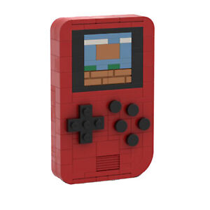The Game Boy Handheld Game Console Gameboy MOC-25399 Building Blocks Toys