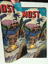 Rare Double Cover 4Most Vol 8 #4 1949 Comic VG+