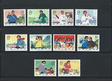 China PRC 1966  mint stamp set Scott 907-916