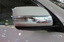 Chrome mirror side molding cover trim Toyota Prado FJ150 11 2012 2013 2014 2015