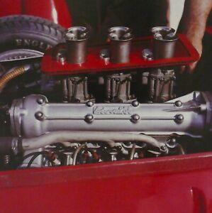 1960 Italian Grand Prix Monza FERRARI Dino F1 Engine Jesse Alexander Photo Print