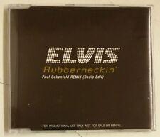 Elvis Presley Rubberneckin' Cd-Single UK Promo 2003