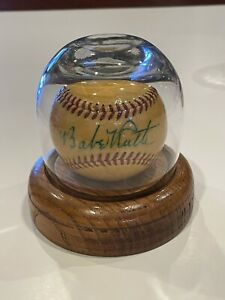 Handmade Glass Baseball Display Case With Wood Base (Ball Not Included)