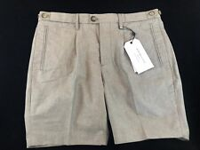 BNWT SELECTED HOMME SHDONENOLAN Tailored Gents Shorts Sand UK30R Save £££s