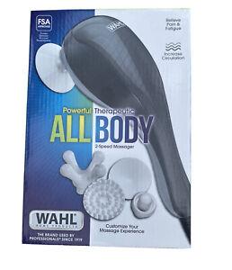 Wahl All Body Massager 4 Attachment Heads 2 Speeds Model 4120-1801