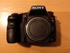 Sony Alpha SLT-A77 24.3MP Digital SLR Camera - Black (Body only)