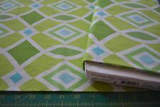 FREE SPIRIT MONACO BY DENA DESIGNS DF37 DIAMOND GREEN NEW 2 & 7/8 yd End of Bolt