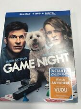 Game Night Blu-ray Jason Bateman Brand New
