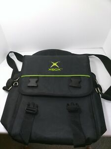 Vintage Official Microsoft Xbox Original Console System Travel Carrying Case Bag