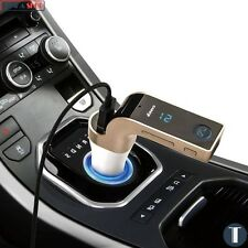 LCD Inalámbrico Bluetooth Transmisor FM MP3 Coche Aux Sd Usb Cargador Manos Libres Kit