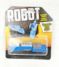 Robot Transforming Vehicle Transformable Robot Figure Toy