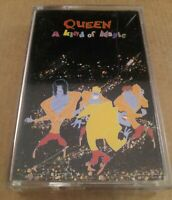 Queen : A Kind Of Magic : Vintage Tape Cassette Album from 1986